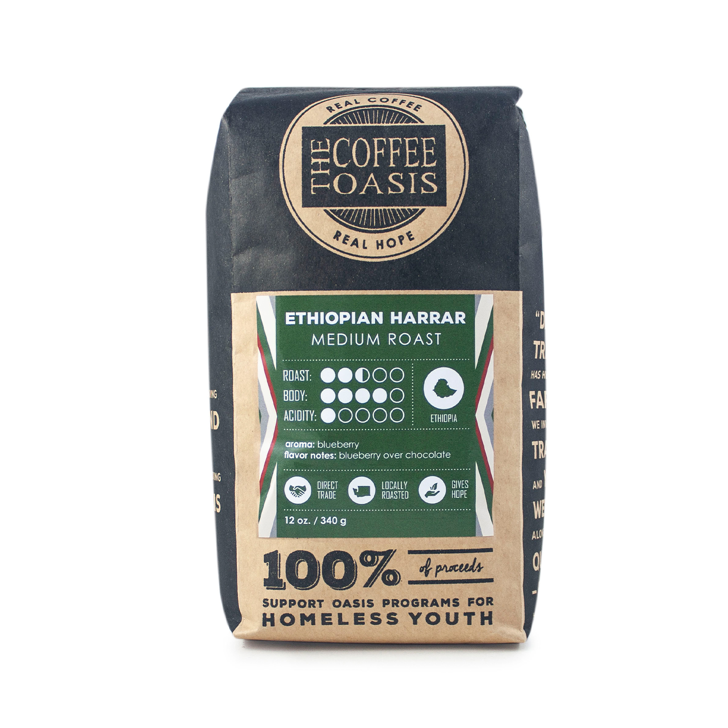 Ethiopian Harrar 12oz Bag